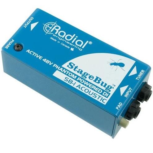 Radial StageBug SB-1 Active DI Box