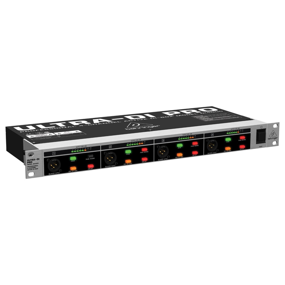 Behringer Ultra-DI 4-Channel