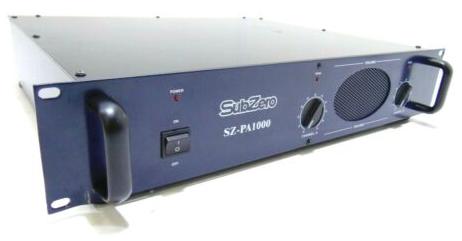 SubZero 750 amplifier