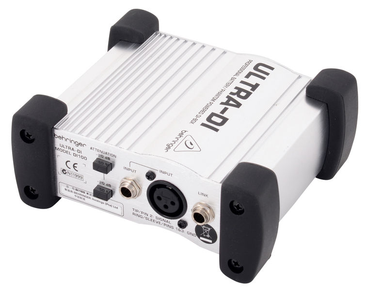 Behringer DI100 Ultra-DI - Active DI Box